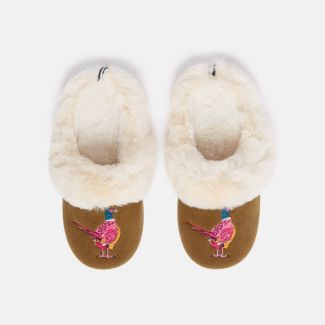 Joules Ladies Slippet Luxe Slippers | Chelford Farm Supplies