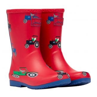 Joules Kids Flexible Roll Up Wellies