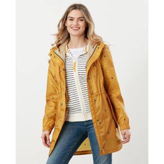 Joules Ladies Golightly Printed Waterproof Packaway Jacket