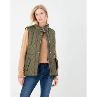 Joules Ladies Frinton Quilted Gilet   Chelford Farm Supplies