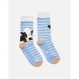 Joules Ladies Brilliant Bamboo Embroidered Socks