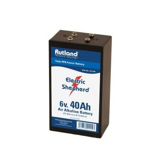 Rutland Electric Fencing 6 Volt Battery 40Ah