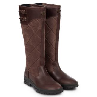 Le Chameau Ladies Jameson Quilted Leather Country Boot