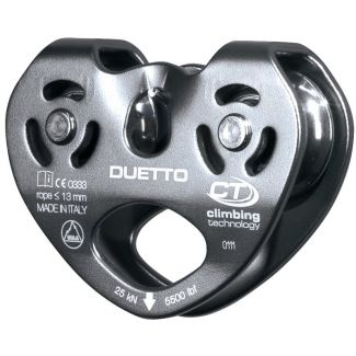 Climbing Technology Duetto Twin Pulley
