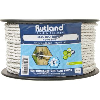 Rutland 6mm Electro-Rope White