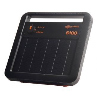 Gallagher Electric Fencing S100 Solar Powered Energiser with Battery