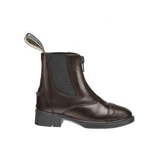 Brogini Childrens Tivoli Piccino Paddock Boots Brown