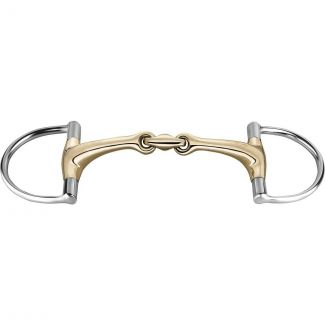 Sprenger Sensogan Dynamic RS Hunter D-Ring Double Jointed Bit - Chelford Farm Supplies
