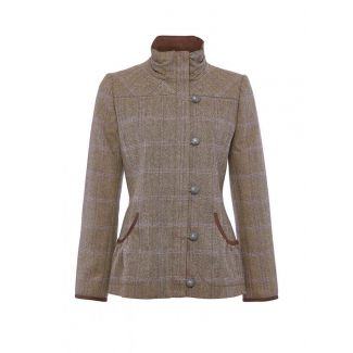 Dubarry Ladies Bracken Tweed Sports Jacket Woodrose