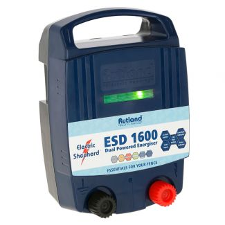 Rutland ESD1600 Dual Powered Battery & Mains Fence Energiser