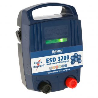 Rutland ESD3200 Dual Powered Battery & Mains Fence Energiser