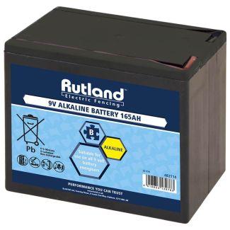 Rutland Electric Fencing 9 Volt Battery 165Ah
