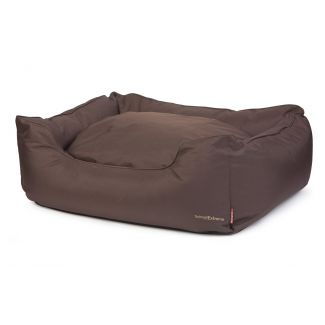 Ancol Timberwolf Waterproof Domino Dog Bed Brown