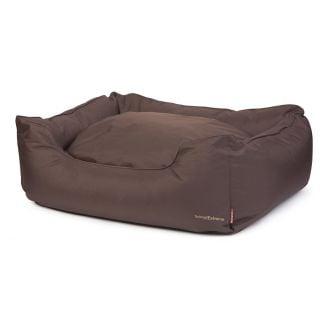 Ancol Timberwolf Waterproof Domino Dog Bed Brown