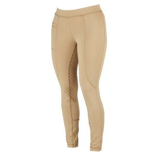 Dublin Ladies Performance Cool-It Gel Riding Tights Beige