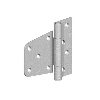 Birkdale Gatemate Heavy Duty Offset Hinges Galvanised - Chelford Farm Supplies