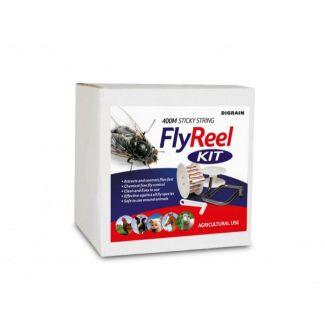 Digrain Sticky String Fly Reel Kit