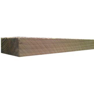 2.1m X 125mm X 75mm Sawn Fence Post