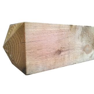 2.1m X 125mm X 125mm 4.W.W Sawn Fence Post