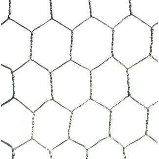 Galvanised Wire Netting 1200mm X 13mm 10m
