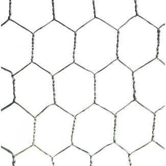 Poultry Wire Netting 900mm X 50mm X 19G 25m