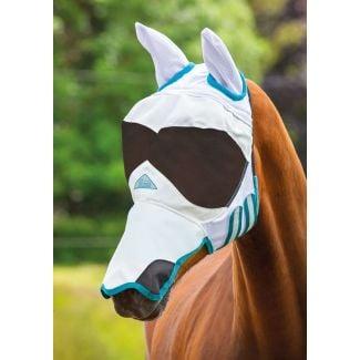 Shires Ultra Pro Fly Mask White