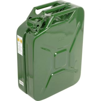 Metal Jerry Can 20L Green