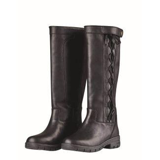 Dublin Ladies Pinnacle Grain II Country Boots Black