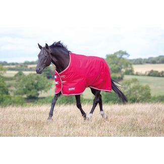 Shires Tempest Original Air Motion Lite Turnout Rug 0g Red/Grey