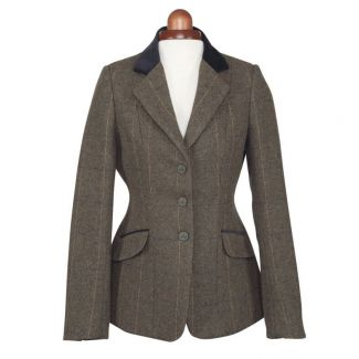 Shires Childrens Aubrion Saratoga Tweed Show Jacket