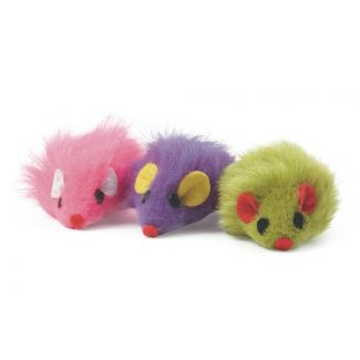 Ancol Furry Mice Cat Toy