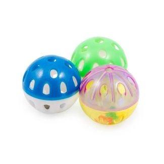 Ancol Plastic Balls Cat Toy