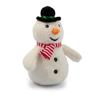 Ancol Cuddly Snowman Christmas Dog Toy - Chelford Farm Supplies