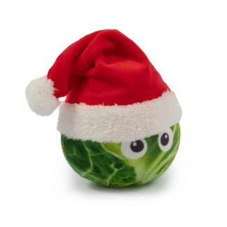 Ancol Mini Sprout 'O' Claus Christmas Dog Toy - Chelford Farm Supplies