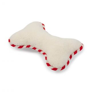 Ancol Supersoft Bone Christmas Dog Toy - Chelford Farm Supplies