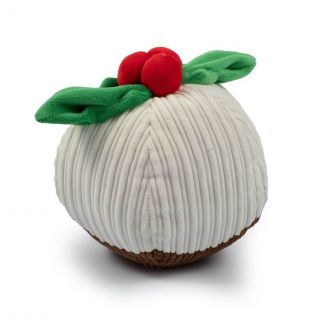 Ancol Giant Christmas Pudding Dog Toy - Chelford Farm Supplies