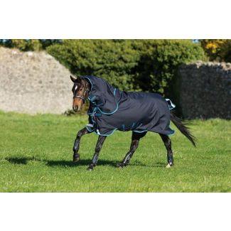 Horseware Amigo Bravo 12 Plus Turnout Rug Bundle Dark Navy