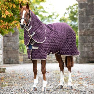 Horseware Amigo Stable Plus Heavy Rug 400g Fig/Navy/Tan