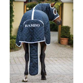 Horseware Rambo Show Set Rug 100g Navy/White