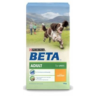 Beta Adult Chicken Dog Food 14kg