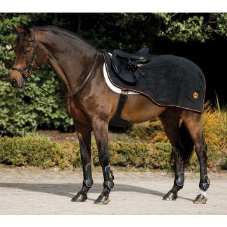 Horseware Rambo Ionic Exercise Sheet Black/Orange