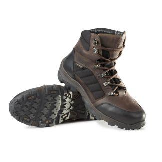 Alan Paine Mens Leather Waterproof Short Boot Brown