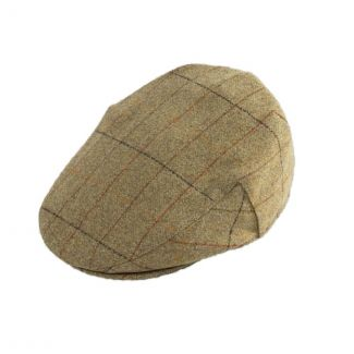 Alan Paine Mens Combrook Tweed Flat Cap - Chelford Farm Supplies