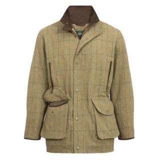 Alan Paine Mens Combrook Tweed Shooting Field Coat - Chelford Farm Supplies