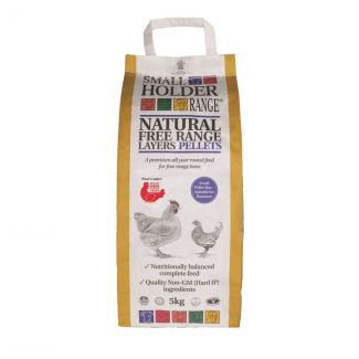 Allen and Page Natural Free Range Layers Pellets 5kg - Chelford Farm Supplies
