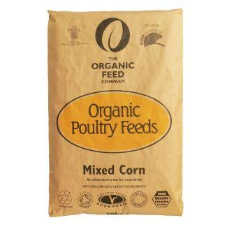 Allen and Page Organic Mixed Corn 20kg - Chelford Farm Supplies
