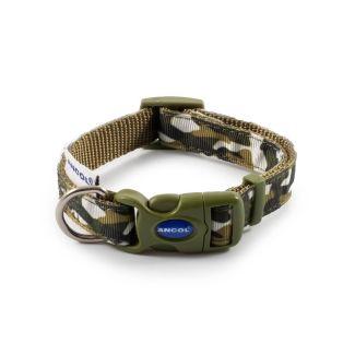 Ancol Combat Green Dog Collar