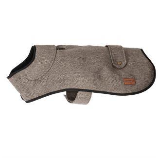 Ancol Heritage Brown Heringbone Dog Coat - Chelford Farm Supplies