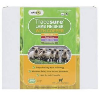Animax Tracesure® Lamb Finisher Copper Bolus 250 Pack