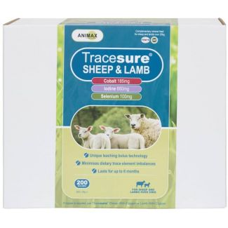 Animax Tracesure® Sheep & Lamb Bolus 200 Pack